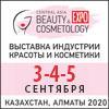 3-я Центрально-азиатская выставка индустрии красоты, косметики, косметологии, натуральной продукции CENTRAL ASIA BEAUTY EXPO 2020