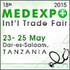 18th MEDEXPO TANZANIA 2015