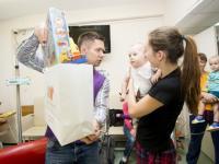 Волшебный праздник устроили благотворители в Морозовской детской городской клинической больнице