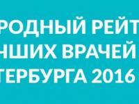 На основе отзывов пациентов портал НаПоправку.ру составил рейтинг врачей Петербурга