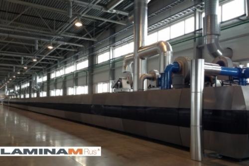 Компания Laminam начала производство керамических плит в России