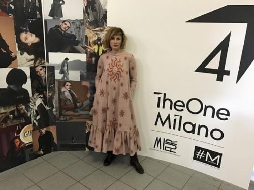 Коллекцию «SFORZESCO» дизайнера Людмилы Лабковой оценили в Милане