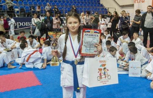 Ребят из спортивного клуба «Подольск-Додзе» поддержали благотворительные организации