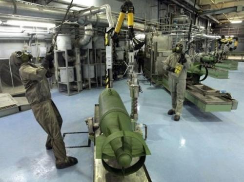 В 2017 году Россия уничтожит все запасы химического оружия