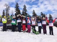 TOY.RU наградила подарками детей на соревнованиях в «Горнолыжном клубе Целеево»