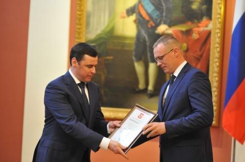 Ярославский моторный завод «Автодизель» получил благодарность Президента Российской Федерации