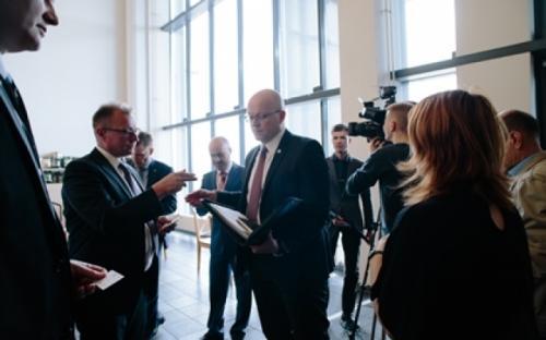 Посол Финляндии в России Микко Хаутала высоко оценил тверское производство компании Paulig