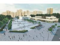 В Зеленограде идет благоустройство площади Юности