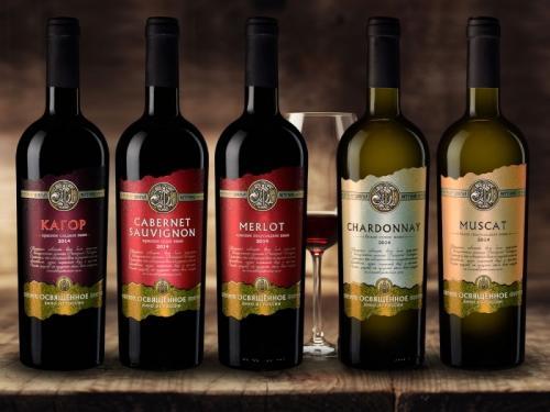 «Добрый Источник» – освящённое вино из России