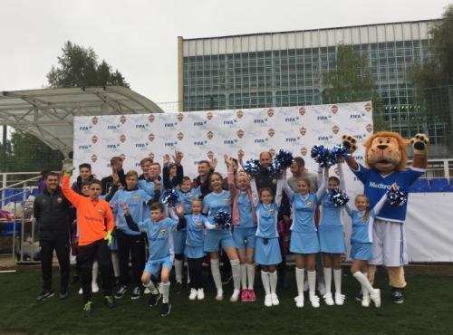 В Москве прошел чемпионат по футболу для детей «Мы все можем сами»