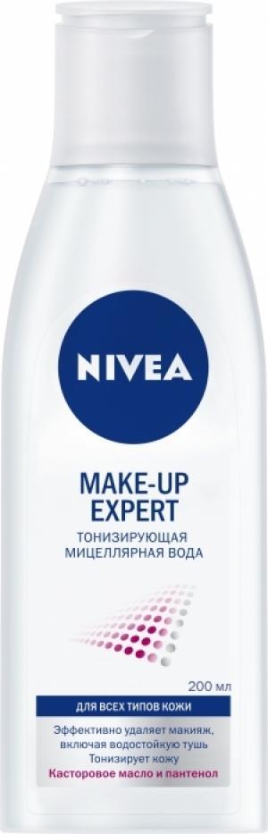 Мицеллярная вода MAKE-UP EXPERT от NIVEA: очищение и тонизирование кожи в одном продукте
