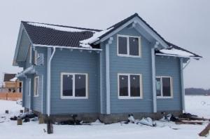 Открыт «зимний» прием заказов на изготовление домов из клееного бруса «Доминант»