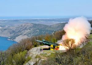 Береговой ракетный комплекс «Утёс» разработки АО «ВПК «НПО машиностроения» принял участие в учениях Черноморского флота