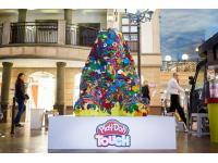 Большой Play-Doh сфинкс в ЦДХ