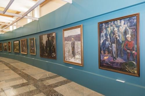 В музее Победы открыли выставку «Живая летопись войны», посвященную художникам ВОВ