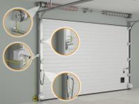 Промышленные секционные ворота ISD01E для работы во взрывоопасных средах