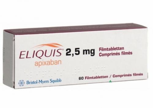 Компании Bristol-Myers Squibb и Pfizer представили результаты исследования по применению препарата Эликвис