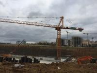 На участке трассы Солнцево — Бутово — Видное начато возведение стен станции метро «Столбово»