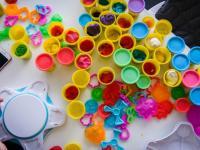 Разноцветный Сфинкс из Play-Doh и другие digital-инсталляции, созданные детьми