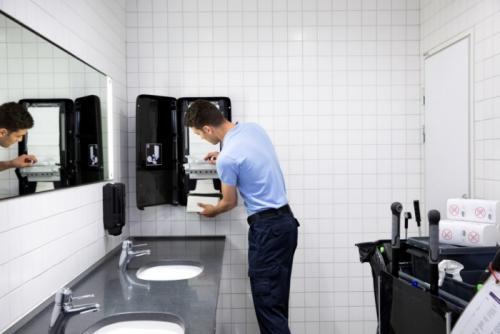 Инновационное решение для туалетов с большим наплывом посетителей