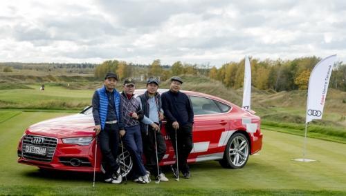 Торжественное закрытие гольф-сезона 2017 состоялось при участии Ауди Центра Таганка