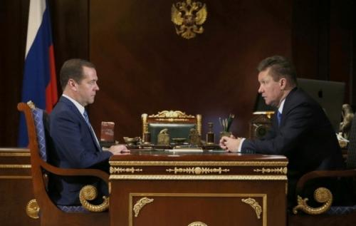 Алексей Миллер проинформировал Дмитрия Медведева о готовности «Газпрома» к зиме и работе по газификации регионов РФ
