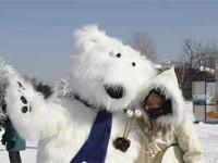 Праздник Снега в канадском парке Жан-Драпо