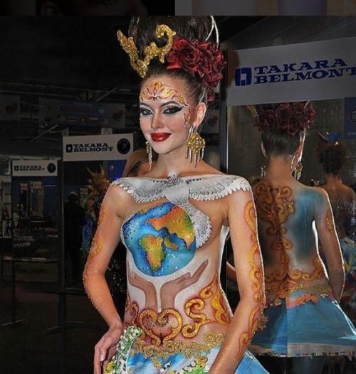 Российская сборная стала чемпионом мира по парикмахерскому искусству