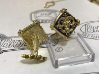 Знаки зодиака в запонках от «Ювелирной коллекции»