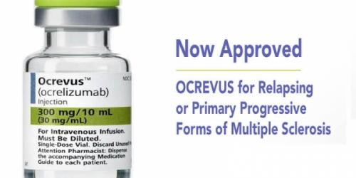 Препарат ОКРЕВУС® компании «Рош» получил положительное заключение CHMP для применения при рецидивирующих формах рассеянного склероза и первично-прогрессирующем рассеянном склерозе
