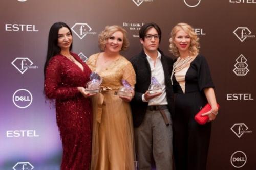 Ольга Романив получила специальную награду Fashion New Year Awards 2018