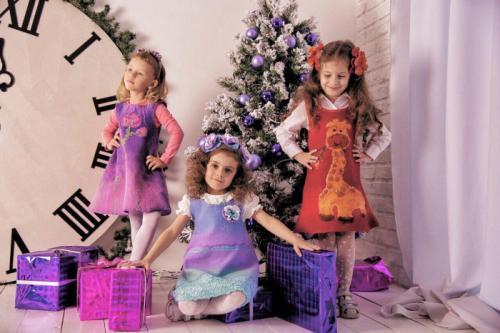 Детская одежда из нуновойлока от дизайнера Светланы Копневой.
