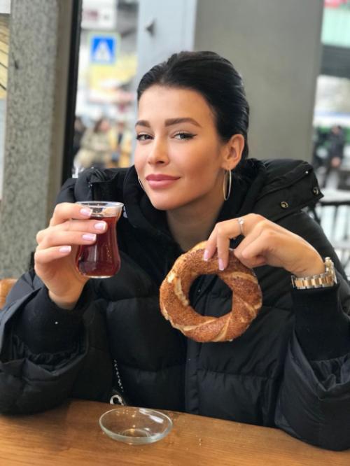 София Никитчук отметила новогодние праздники с семьей