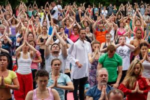 4-ий Международный день йоги в России