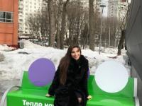 «Теплая скамейка» появилась в Фестивальном парке