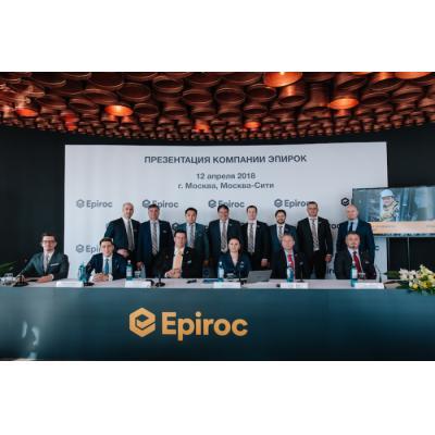 Компания «Эпирок» представила свой бренд в России