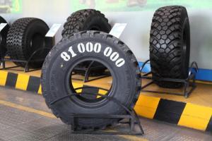81-миллионная грузовая шина произведена на предприятии КАМА TYRES