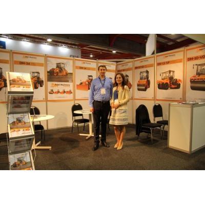 Техника ООО «Завод «Дорожных машин» была представлена на выставке Bauma Africa 2018