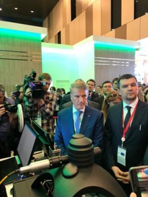 Сбербанк совместно с Минкомсвязи РФ презентовал варианты использования идентификационных биометрических документов