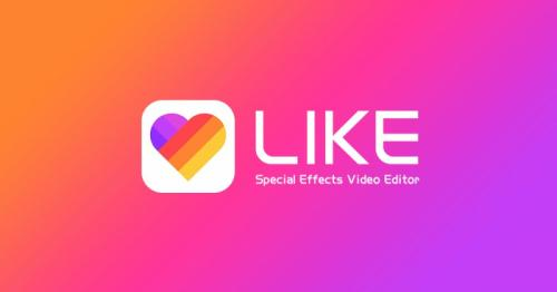 Мировой дебют эффекта «Магия формы» в приложении LIKE