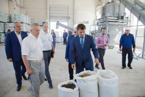 В Белгородской области открылся завод по производству добавки для асфальтобетона