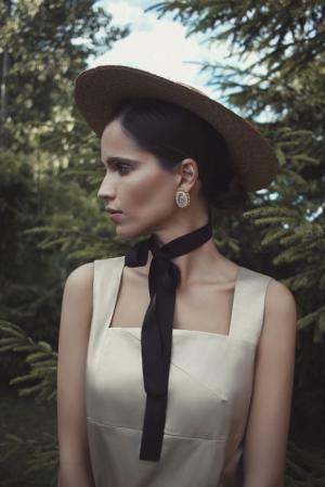 Российский дизайнер Кристина Шульева представила свою новую летнюю коллекцию