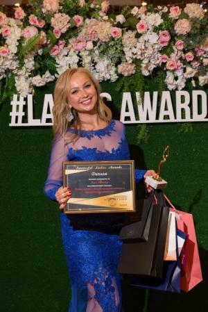 Директор CF по развитию бизнеса Анна Харченко стала обладателем премии Successful Ladies Awards