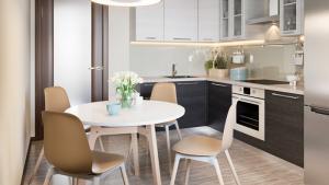 ФСК «Лидер» дарит кухонную мебель при покупке квартиры с отделкой в ЖК «Поколение» и UP-квартале «Сколковский»