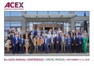 4-я международная логистическая конференция ACEX собрала в Сочи логистов со всего мира