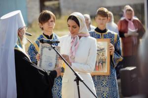Миссис Россия построит храм