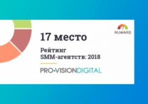 Pro-Vision Digital укрепляет позиции в «Золотой Сотне» digital-агентств