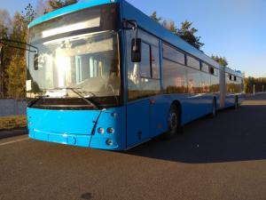 Busworld Russia 2018: премьера автобуса МАЗ 216 с автоматической коробкой передач Allison