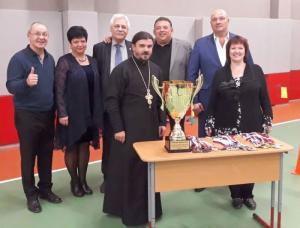 В Хорошевском районе столицы прошел юбилейный турнир по армрестлингу