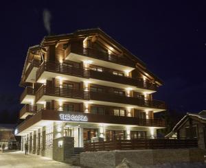 Швейцарский отель The Capra в Саас-Фе